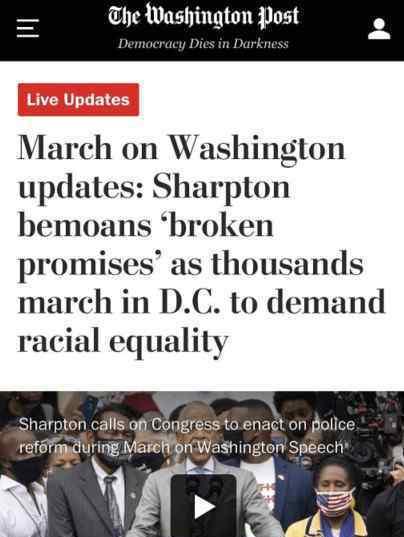 华盛顿爆发大游行 到底发生了什么