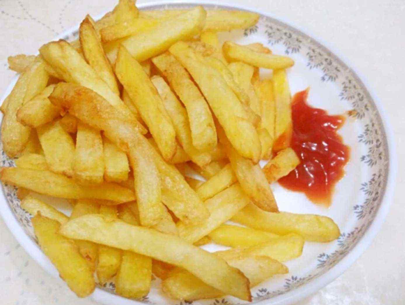 学炸薯条 学会这个炸薯条的小秘密,炸出和肯德基、麦当劳一样的薯条!